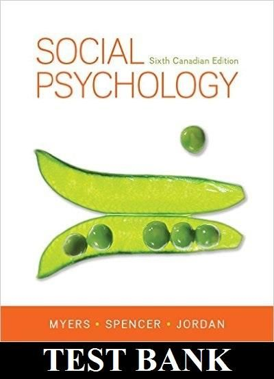 29 best psychology test bank study guides images on pinterest social psychology 6th canadian edition by myers spencer jordan test bank fandeluxe Gallery