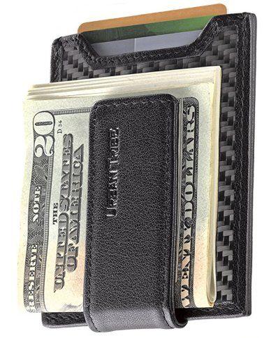 edb1bb7480bb Cash Clamps: The 5 Best Carbon Fiber Money Clips Under $20 | Men's Style  Guide | Money clip wallet, Money clip, Wallet