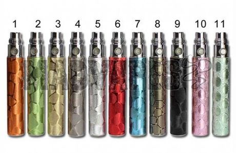 There are 12 different colors you can choose from for your battery like black, silver, white, yellow, red, pink, blue, etc.