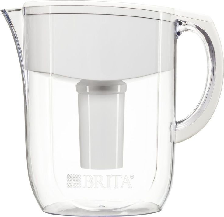 Water Pitcher Jug Filter BPA Free Easy Fill Lid Auto Indicator Healthier Taste #Brita