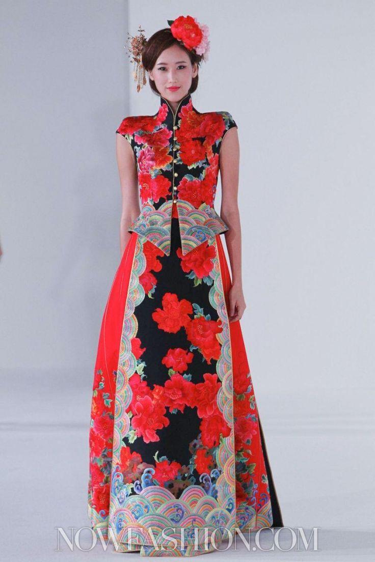 Guo Pei Ci Couture Spring Summer 2013 Singapore - NOWFASHION