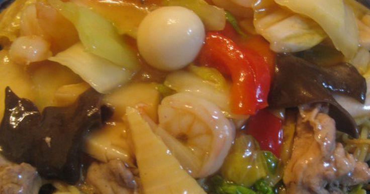 本格中華 五目あんかけやきそば(中華飯) by desperados [クックパッド] 簡単おいしいみんなのレシピが271万品