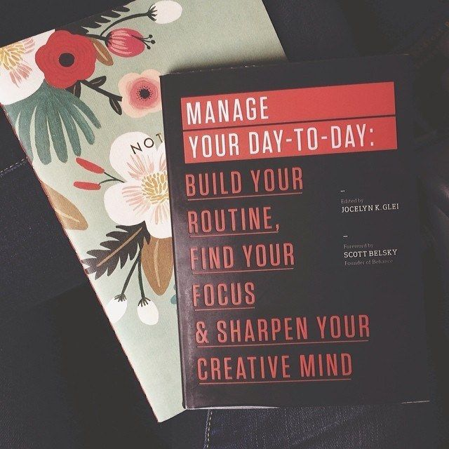 READ: Manage Your Day-to-Day (reread)