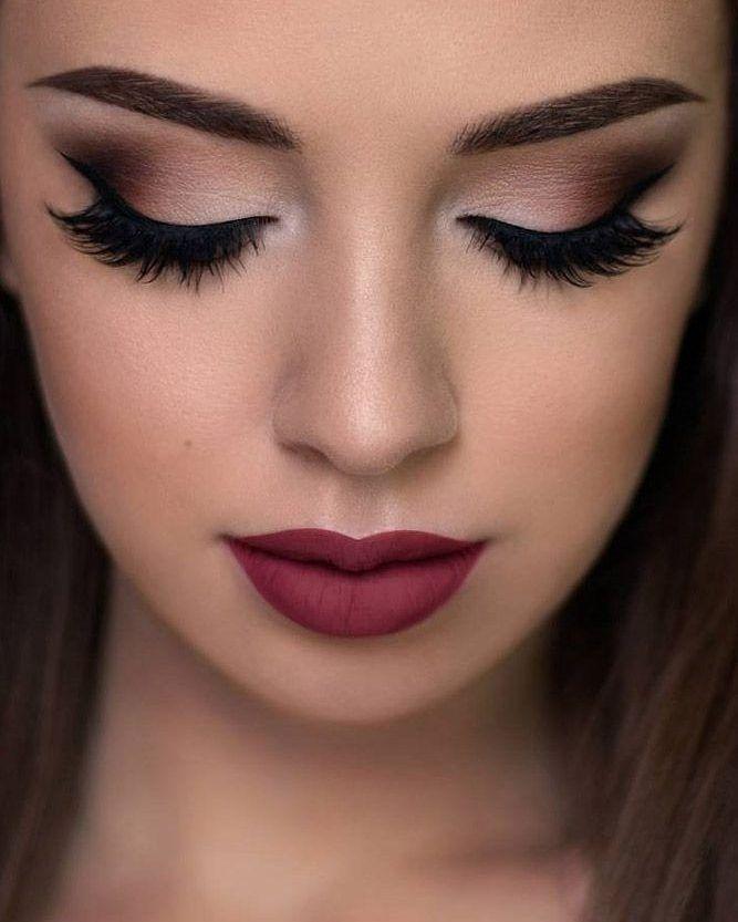 Gente do céu... o que são esses olhos e essa boca? Uma maquiagem ARRASADORA pro grande dia!