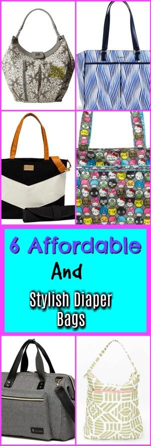 6 Affordable and Stylish Diaper Bags