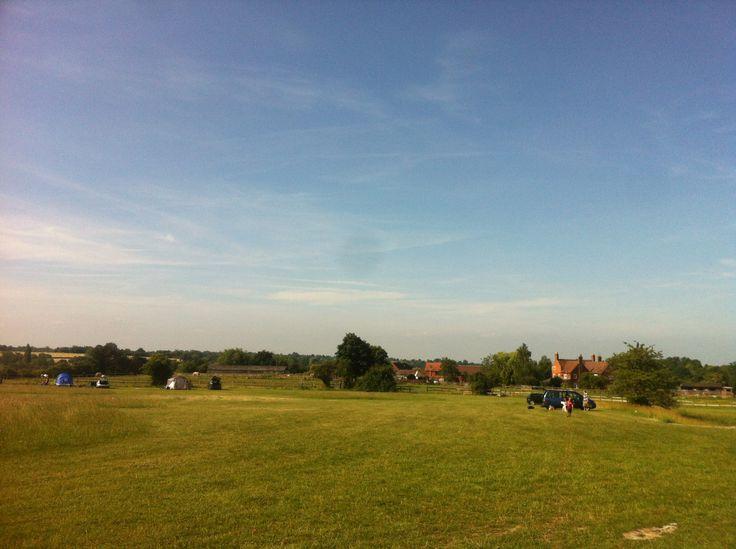 Mousley House farm campsite Warwick