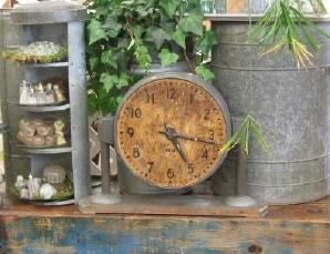 Wonderful old industrial clock