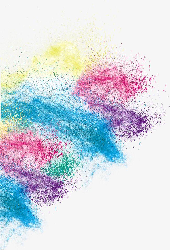 Beautiful Color Splash Background Color Splash Color Powder
