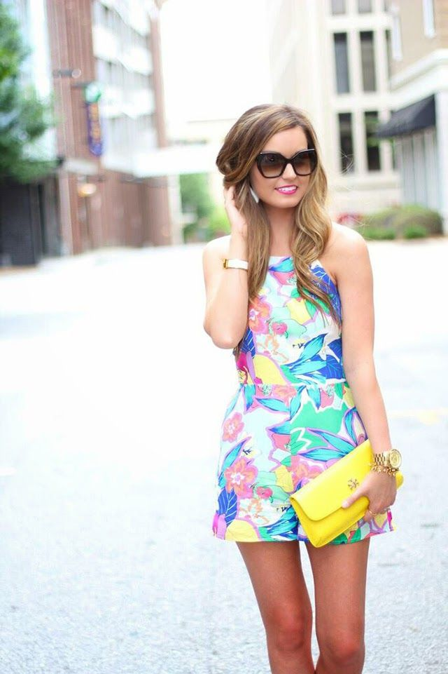 Floral Romper Day Date @YumiKim on For All Things Lovely