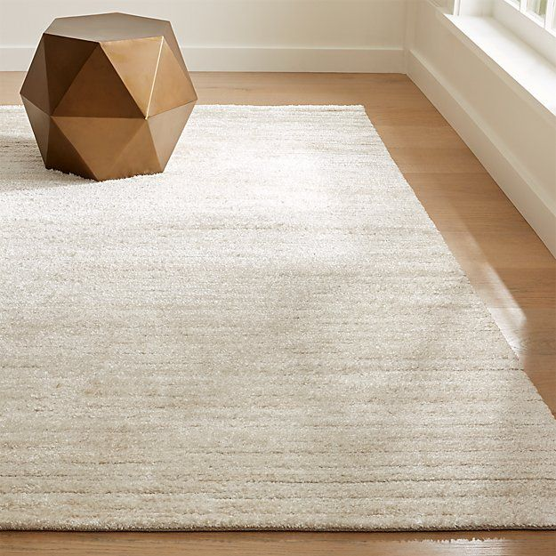 Gabor 9x12 Ivory Chenille Rug Reviews Crate And Barrel Handwoven Rugs Rugs Woven Rug