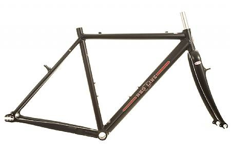 Redline Conquest Pro SS Cyclocross Frameset - Furious single-speed CX performance and Redline's dialed geometry