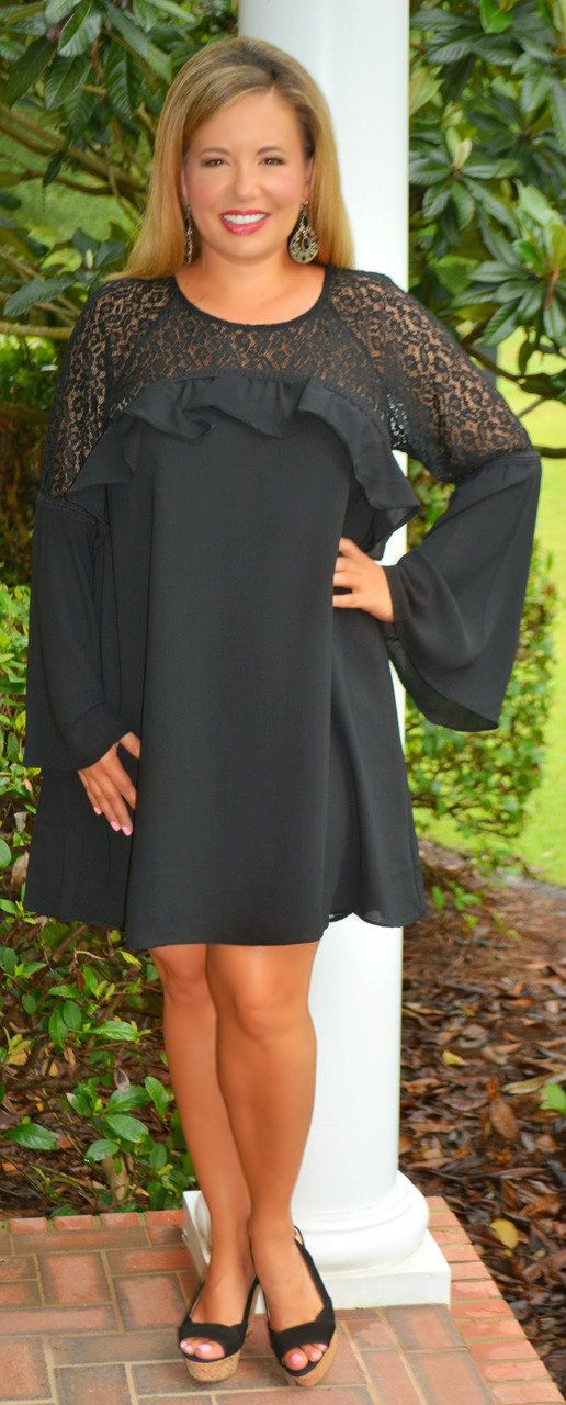 A Night To Remember Dress - Black - Perfectly Priscilla Boutique   Supernatural Style