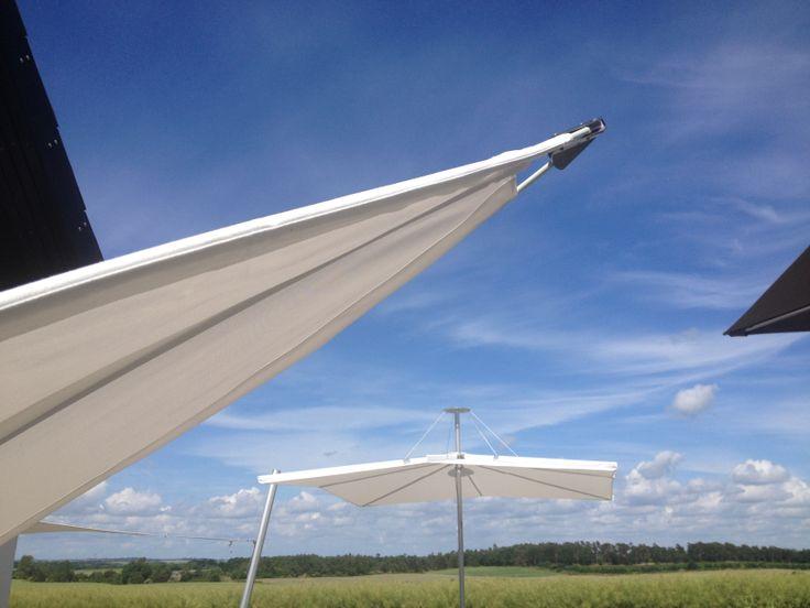 Infina parasol, Rimbou parasol, Umbrosa, #garden furniture, #Lifeform.dk