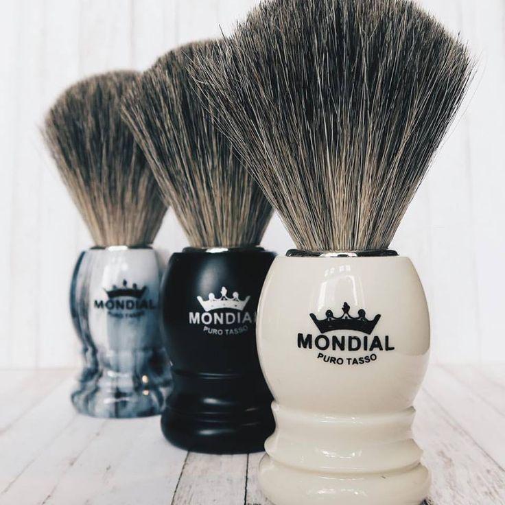 Handmade Shaving Brushes - Mondial 1908 - Florence, Italy