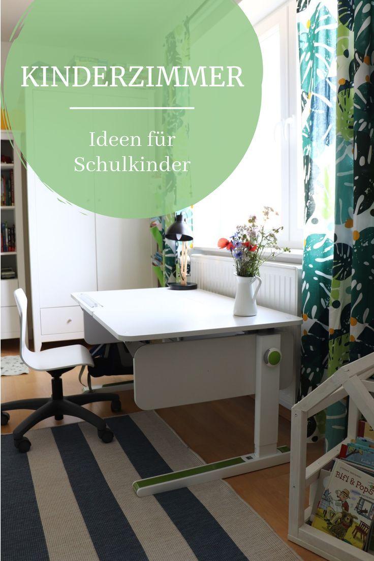 Kinderzimmer-Umgestaltung: Vom Kindergartenkind- zum Schulkind-Kinderzimmer