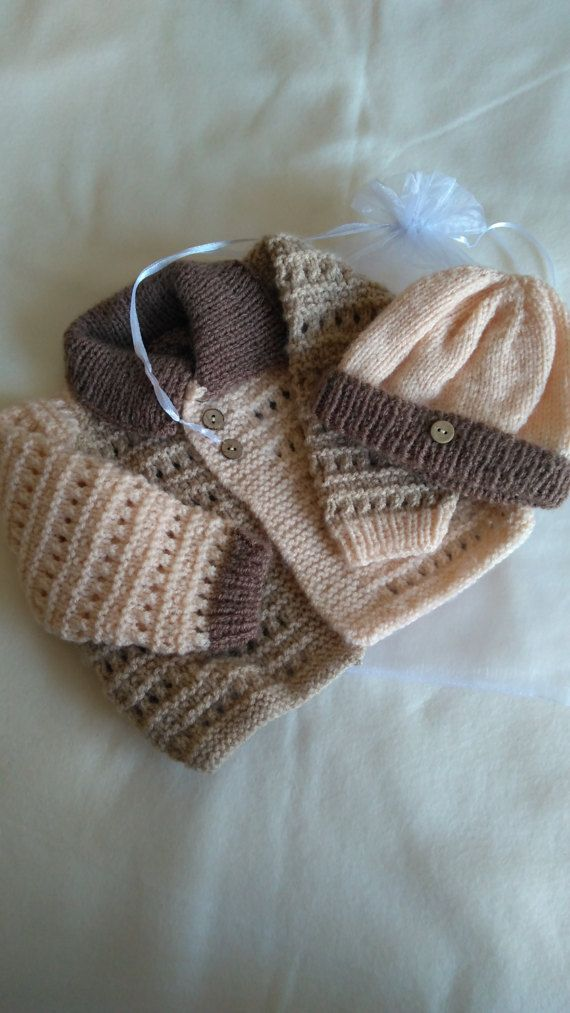 Baby Boy's First Size 0-3 months by NoveltyKnitandCrafts on Etsy
