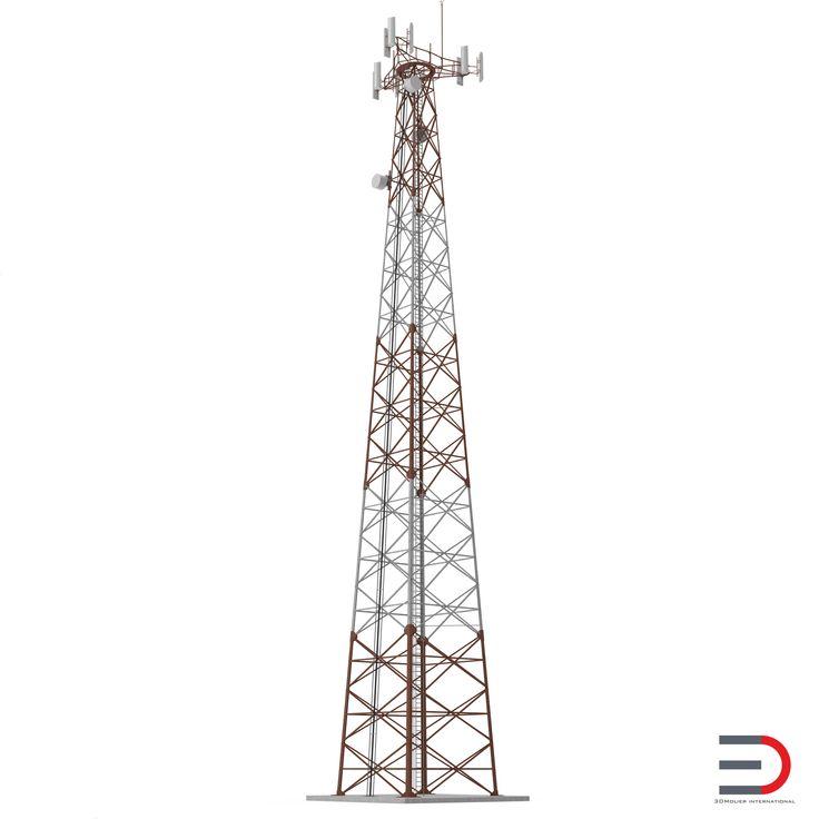 Cellphone Tower 3d model http://www.turbosquid.com/3d-models/3d-cellphone-tower/948419?referral=3d_molier-International