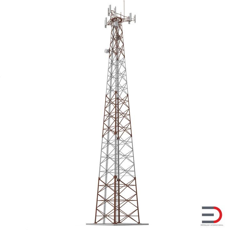 Cellphone Tower 3d model http://www.turbosquid.com/3d-models/3d-cellphone-tower/948419?referral=3d_molier-International