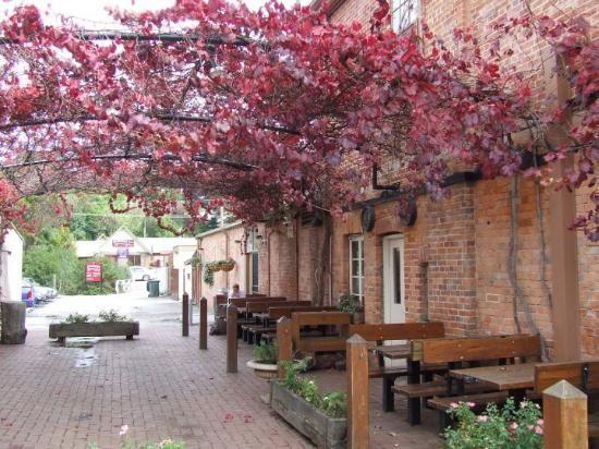 A pub in Hahndorf - A town in South Australia