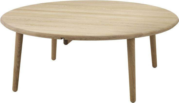 round coffee table oak, diameter 120cm | design: Nirvan Richter, producer: Norrgavel