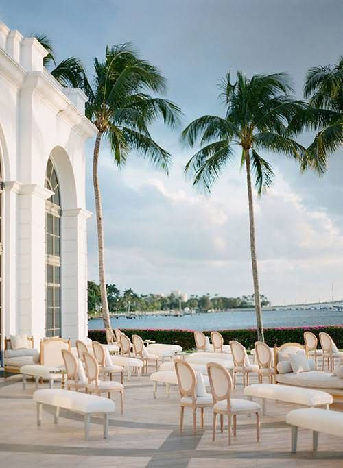 This Couple Personalized Their Glamorous Palm Beach Wedding with Surprises At Every Turn