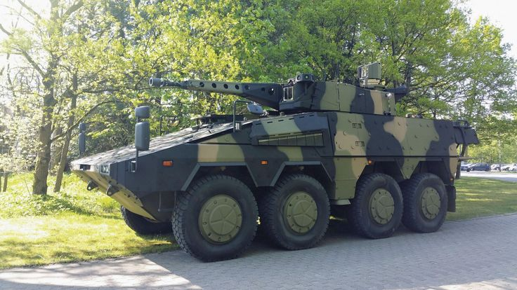 The Boxer fitted with the latest 35 mm Lance two-person turret is the Rheinmetall entry for the Australian Army's CRV. (Rheinmetall)