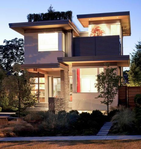Duplex fourplex plans a collection of ideas to try about for Contemporary home builders houston