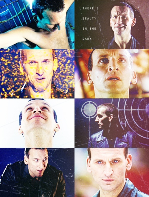 Christopher Eccleston....I can't part with him. Can't, can't, cannot. :'(