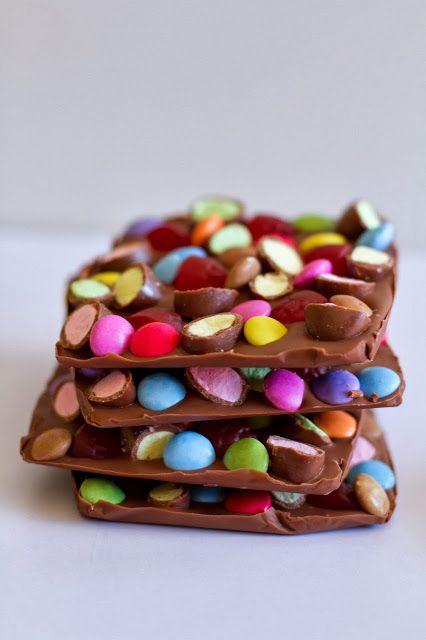 make it perfect: .Chocolate Slabs.