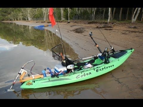 1000 images about kayak fishing on pinterest ocean for Fishing canoe setup