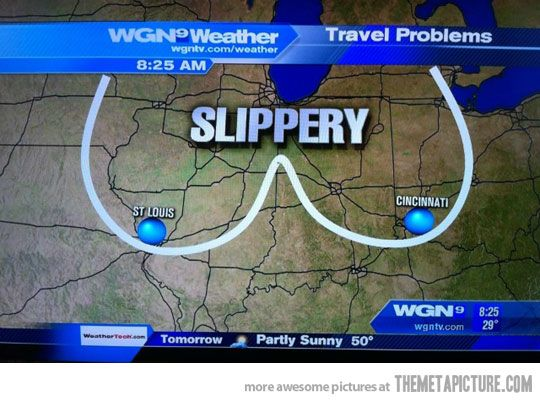 Meanwhile in Chicago…from the worst Chicago weatherman Tom Skillethead