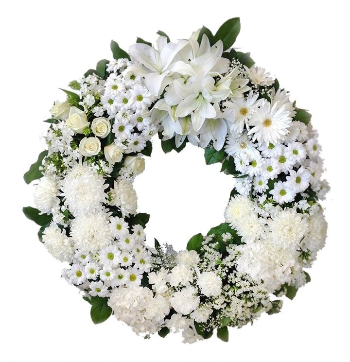 After Glow Funeral Wreath (AR1626) Funeral flowers, Wreaths for funerals, Wreaths