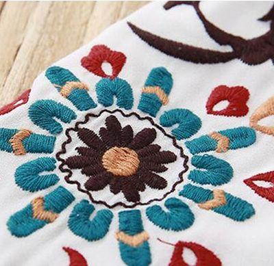 花柄刺繍シャツ 刺繍ブラウス レディース トップス ブラウス 透け感 花柄 プルオーバー スキッパー スキッパーシャツ イレギュラーヘム 7分袖白シャツ仕入れ、問屋、メーカー・生産工場・卸売会社一覧