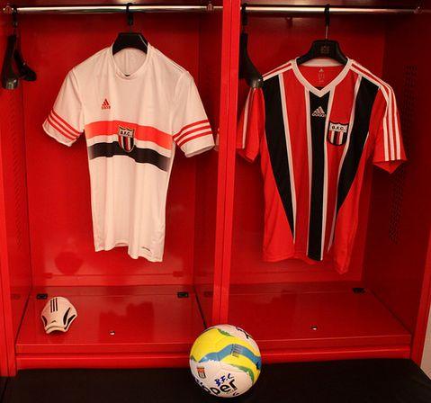 Camisas  Botafogo-SP - 2015 adidas