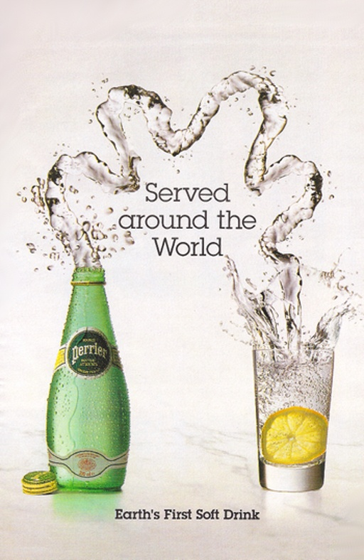 Perrier Advertising In 1997 The Slogan Quot The Earth S First