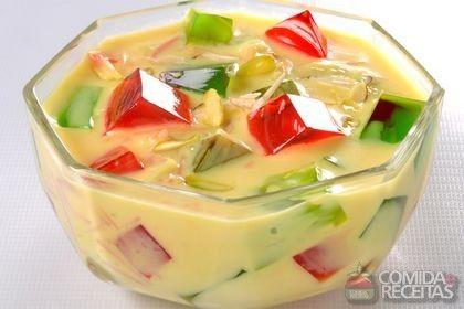 Receita de Gelatina mosaico especial em receitas de doces e sobremesas, veja essa e outras receitas aqui!