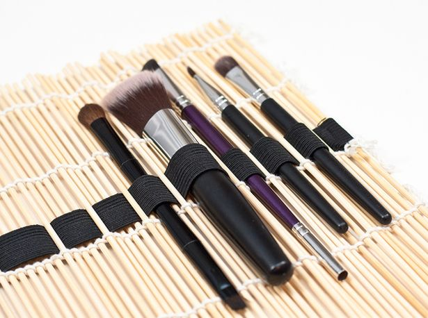 organize brushes, diy brushes storage, makeup kwasten opbergen, zelf maken opberger