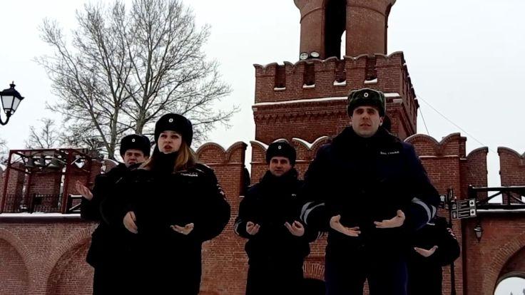 Сотрудники полиции исполнили гимн России на русском жестовом языке