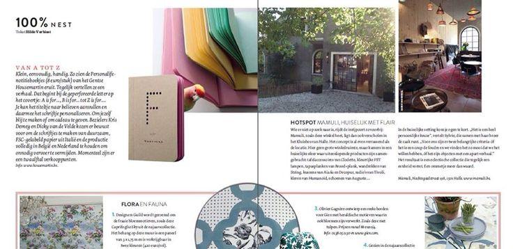 www.mamuli.be Artikel in Nest magazine