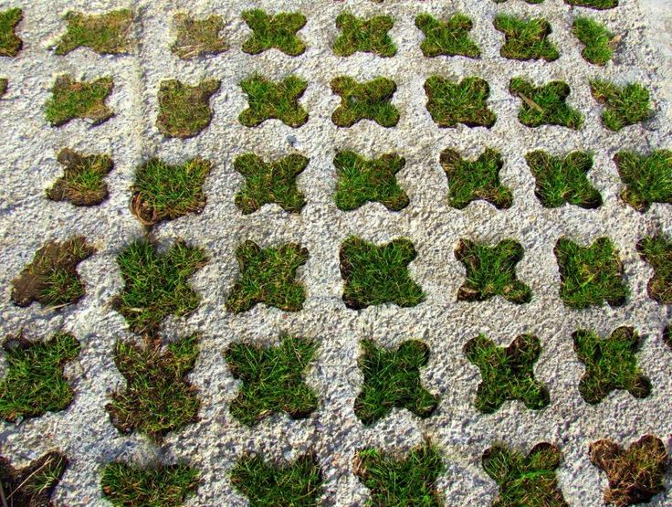 Grasscrete.  Concrete, that ubiquitous gray building material, is one of the world's most consistent sources of CO2 emissions. We've got 11 alternatives to consider.