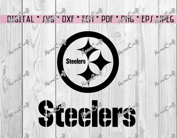 SVG PITTSBURGH STEELERS logo digital vector by MamaCraft4You