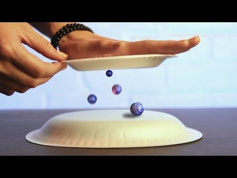 9 Awesome Science Tricks Using Static Electricity! - YouTube
