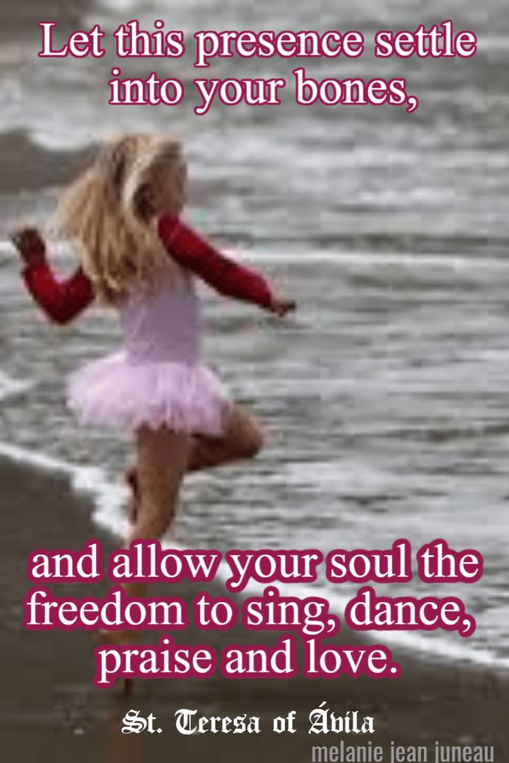 allow your soul the freedom to sing