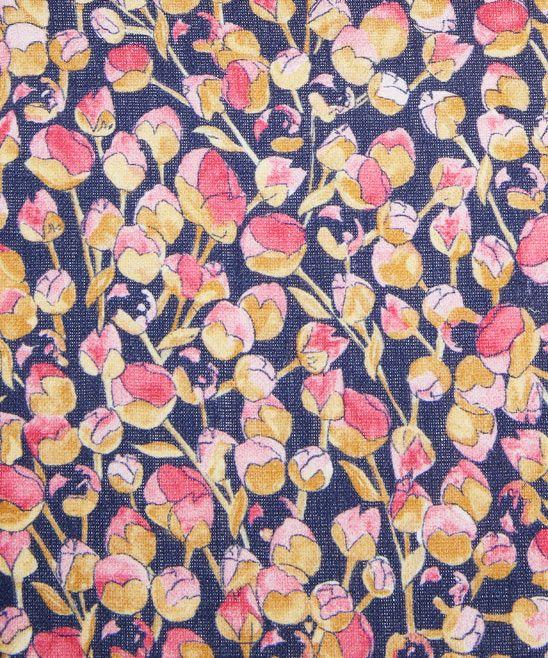 Blue and Pink Eliza Print Linen Union, Liberty Furnishing Fabrics. Shop more floral print fabrics from the Liberty Furnishing Fabrics collection at Liberty.co.uk