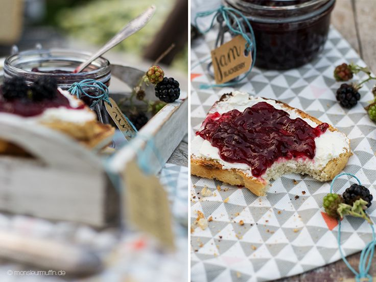 Das Rezept für das weltbeste Toastbrot und dazu die leckerste Sommermarmelade findet ihr heute auf monsieurmuffin.