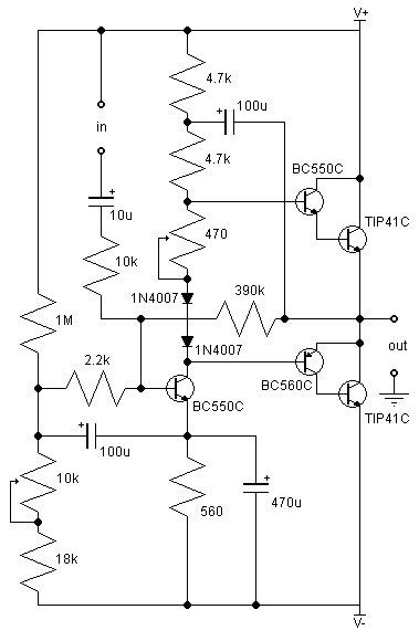 21w class ab audio amplifier circuit my style audio amplifier21w class ab audio amplifier circuit