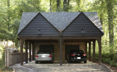 17 best images about architecture carport on pinterest for Wooden garage plans