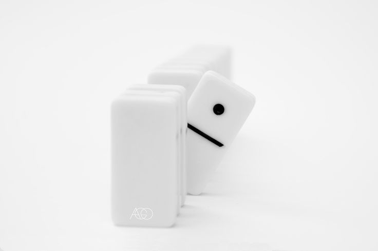 #photography #white #simplicity #lessismore #monochrome #domino