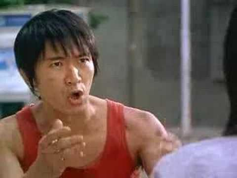 Shaolin Soccer Director: Stephen Chow  Staring: Stephen Chow, Wei Zhao and Yut Fei Wong..   If you are a film buff you will be additionally amused by the many awesome references but regardless, this film is action packed, sweet and funny...  http://www.imdb.com/title/tt0286112/