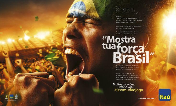 Itaú / Copa do Mundo - André Marques [Art Director]